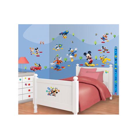 Adesivi Murali Per Bambini Disney.Kit Adesivi Decorativi Topolino Clubhouse Disney Mickey Mouse