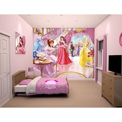 Adesivi Murali Principesse Disney.Principesse Al Ballo Adesivo Murale 12 Pannelli Fairy Princess 43183