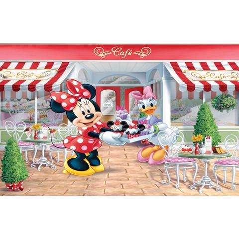 Minnie e paperina poster murale 12 pannelli disney minnie mouse 41332 walltastic for Decori per camerette neonati